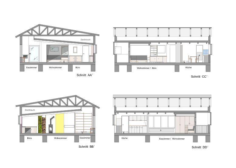 Umbau Und Sanierung Eines Efh Mit Entwurf Der Au 223 Enanlagen
